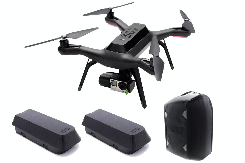 3DR Solo Smart Aerial Drone   Bundle