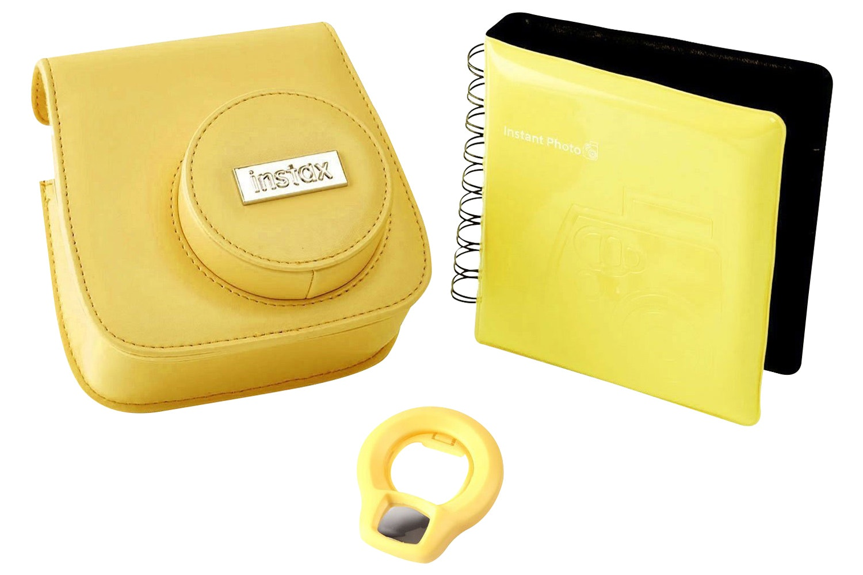 FujiFilm Mini 8 Instant Camera Accessory Kit | Yellow