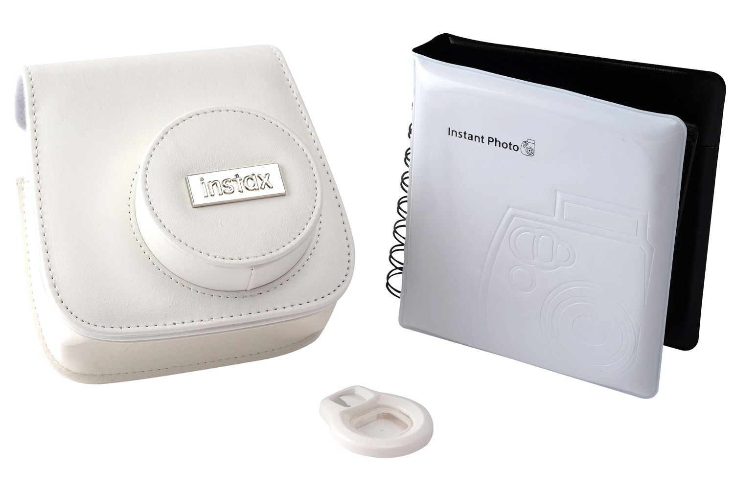 FujiFilm Mini 8 Instant Camera Accessory Kit | White