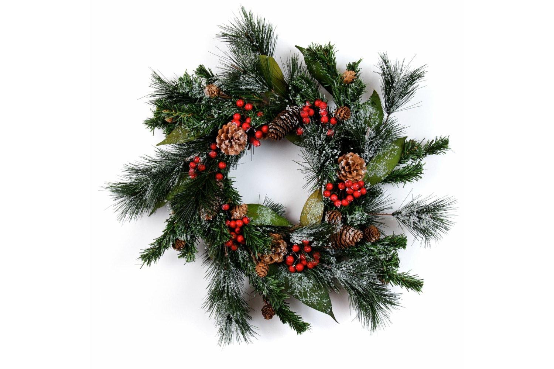 Snowtipped Fir Wreath