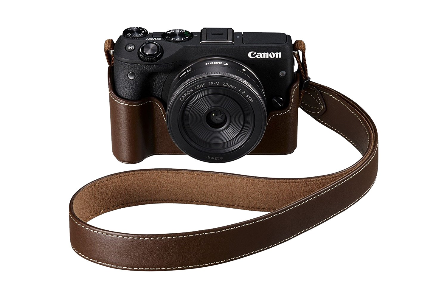 Canon EOS M3 Body Jacket | Brown