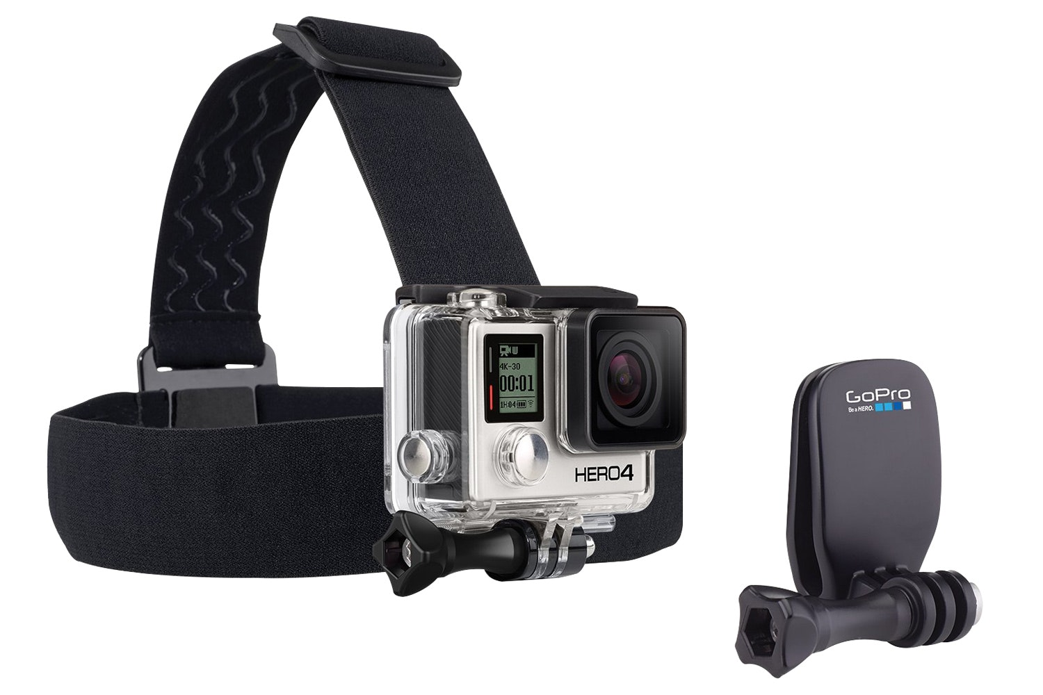 GoPro Head Strap With QuickClip | Black
