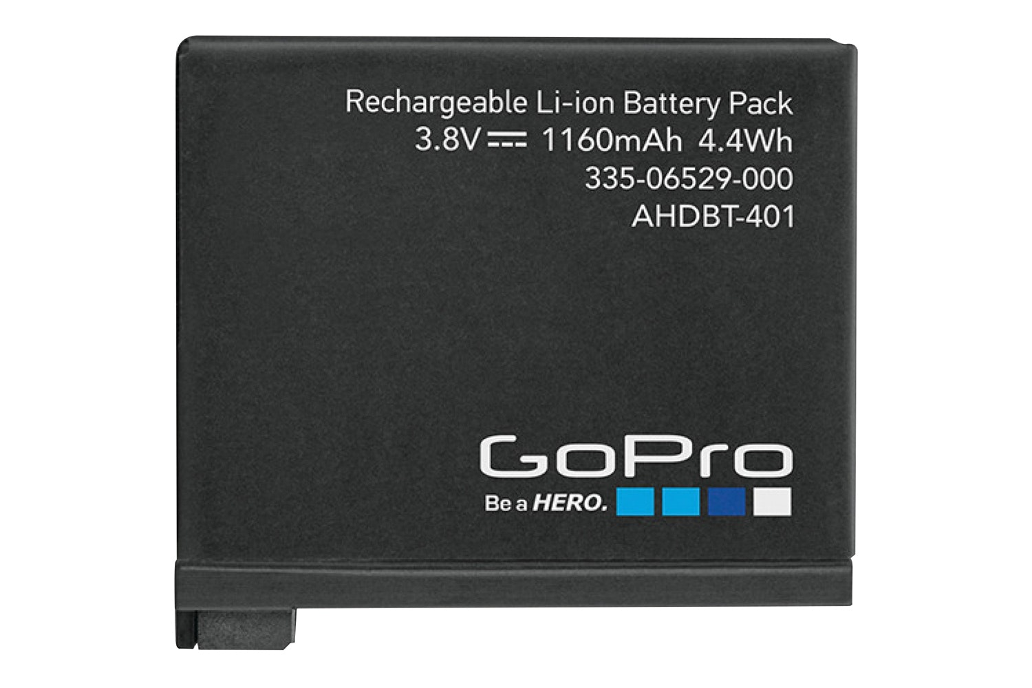 GoPro Hero4 Rechargable Battery | Black