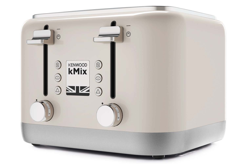 Kenwood kMix 4 Slice Toaster | TFX750CR | Cream