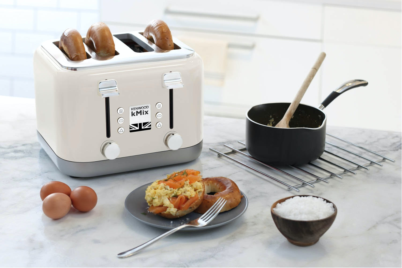 Kenwood kMix 4 Slice Toaster | Cream