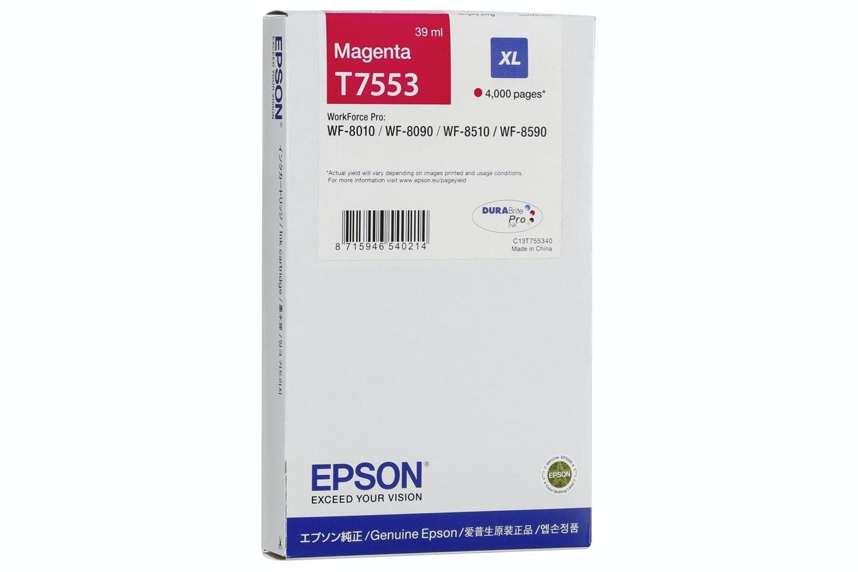 Epson T7553 Original Ink Cartridge | Magenta