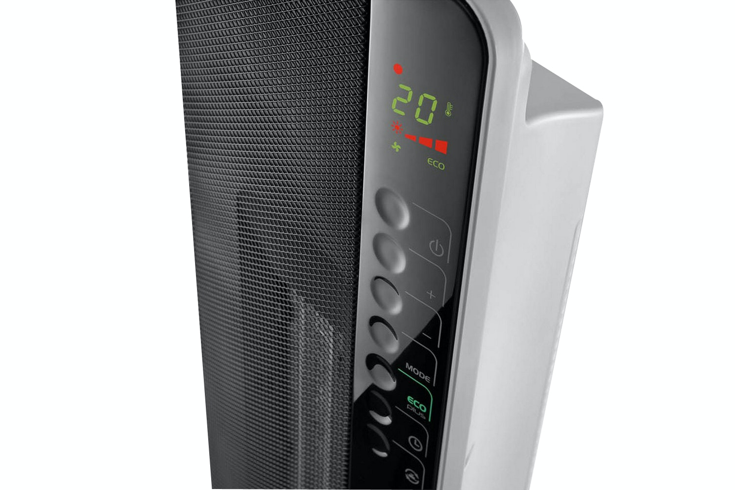 DeLonghi 2400W Digital Ceramic Tower Heater | Black
