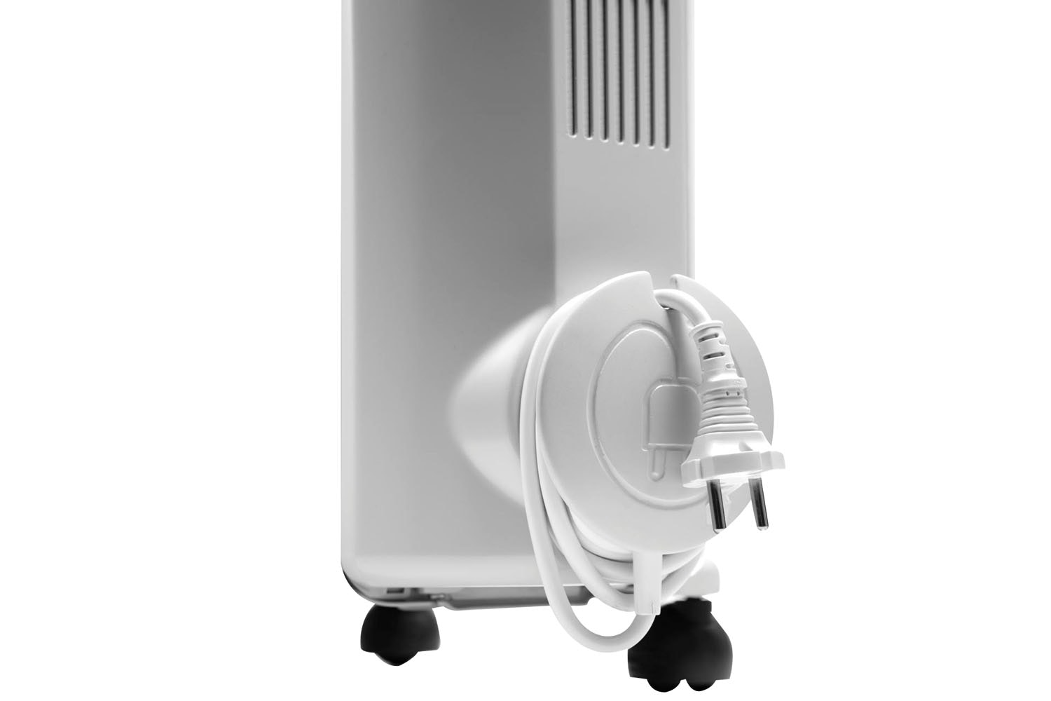 Delonghi Oil Filled Radiator With Thermostat | White