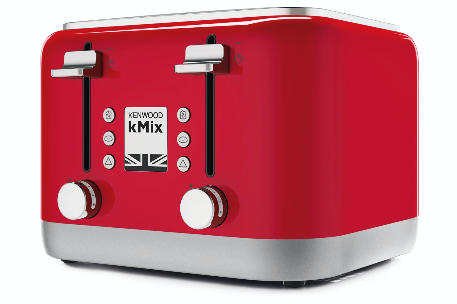 Kenwood kMix 4 Slice Toaster | Red