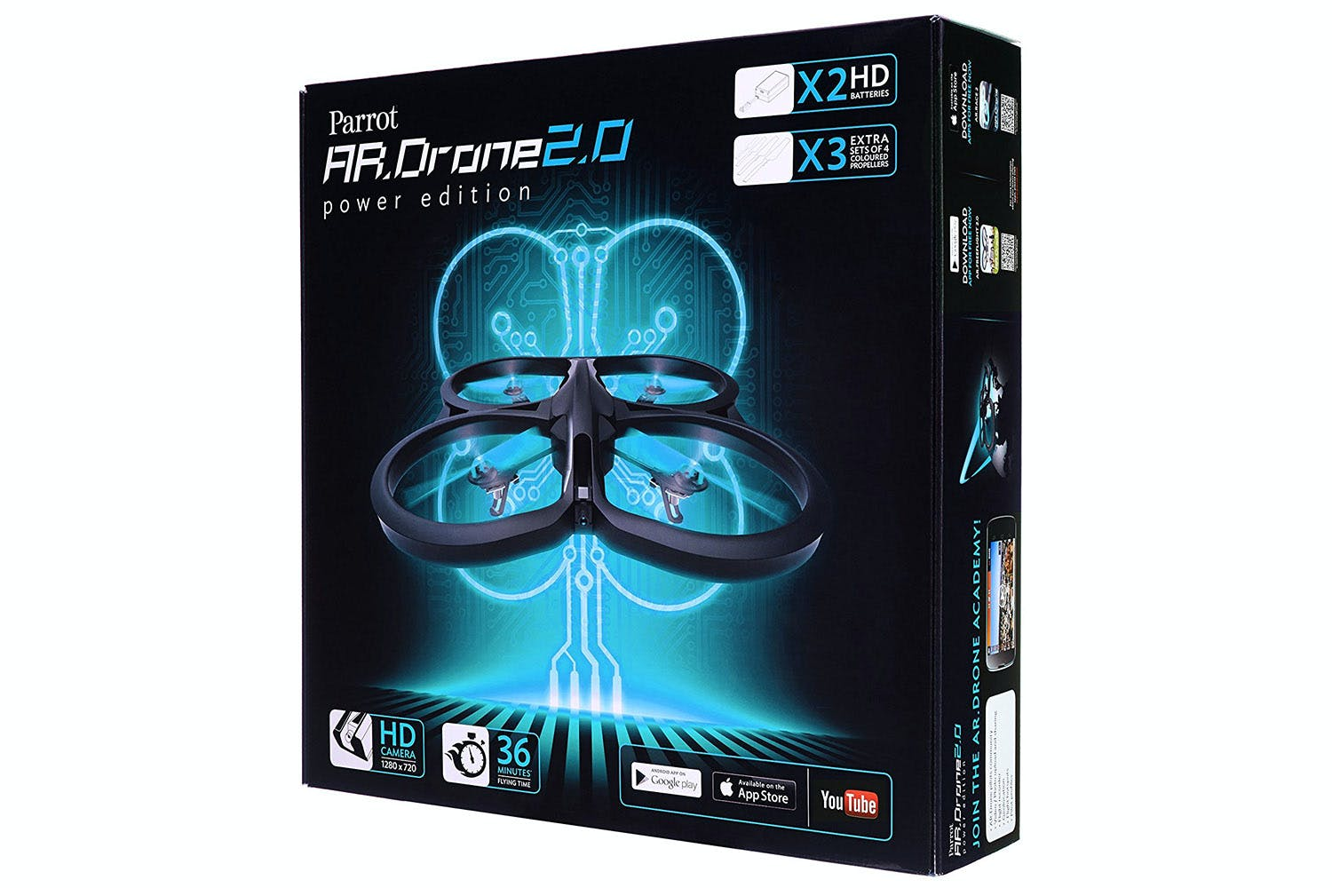 parrot ar drone 2 0 range with Parrot A R  Drone 2 0 Power Edition Turquoise on Appcessories The Perfect Gift For An IPhone Fan With Everything in addition 75852 Parrot Bebop Quadcopter Drone With 14mp Full Hd 1080p Wide Angle Camera also Introducing Parrot Skycontroller likewise ment Augmenter Le Signal Wifi Tp Link moreover Skyrc D100 V2 1s 6s Lipo Acculader.