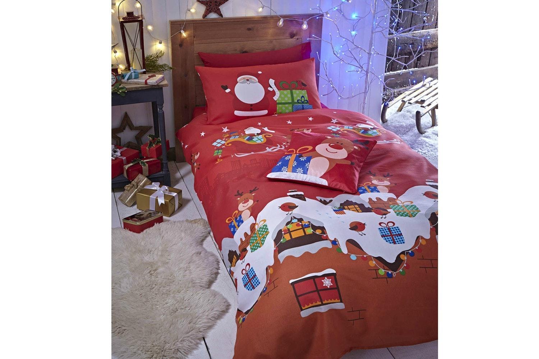 Santa's Christmas Presents | Single Duvet set