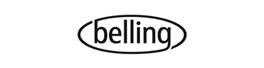Belling 98L Under Counter Fridge With Freezer | BR98WH