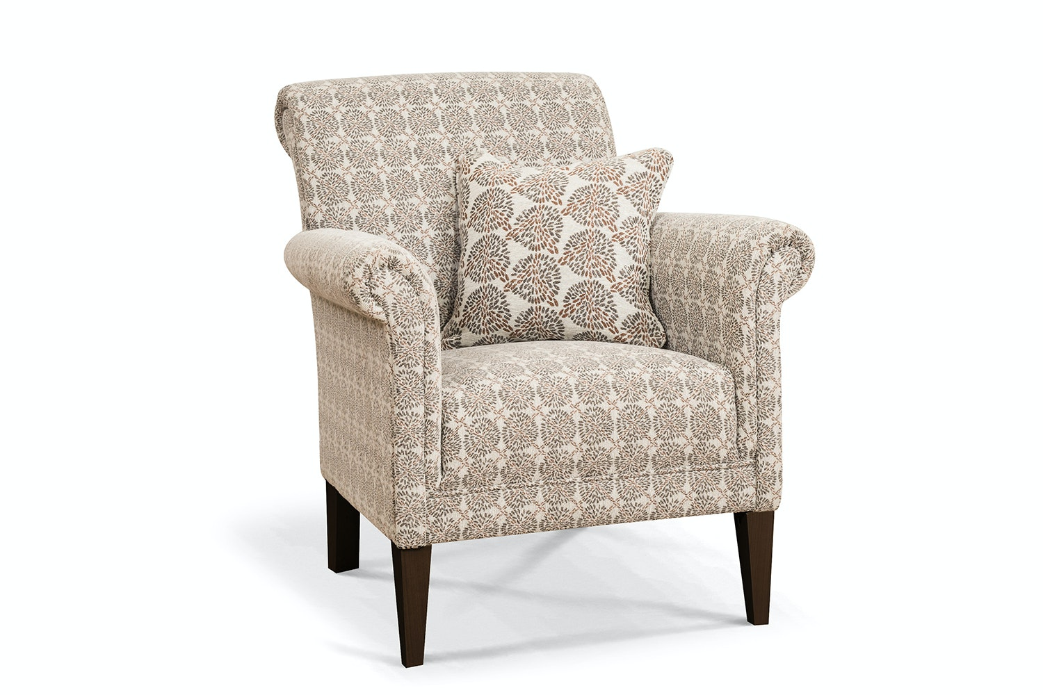 Preston Bedroom Chair | Mandy Spice with Scatter